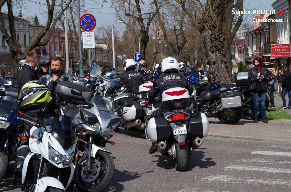Tegoroczny sezon motocyklowy rozpoczęty mszą na Jasnej Górze 21