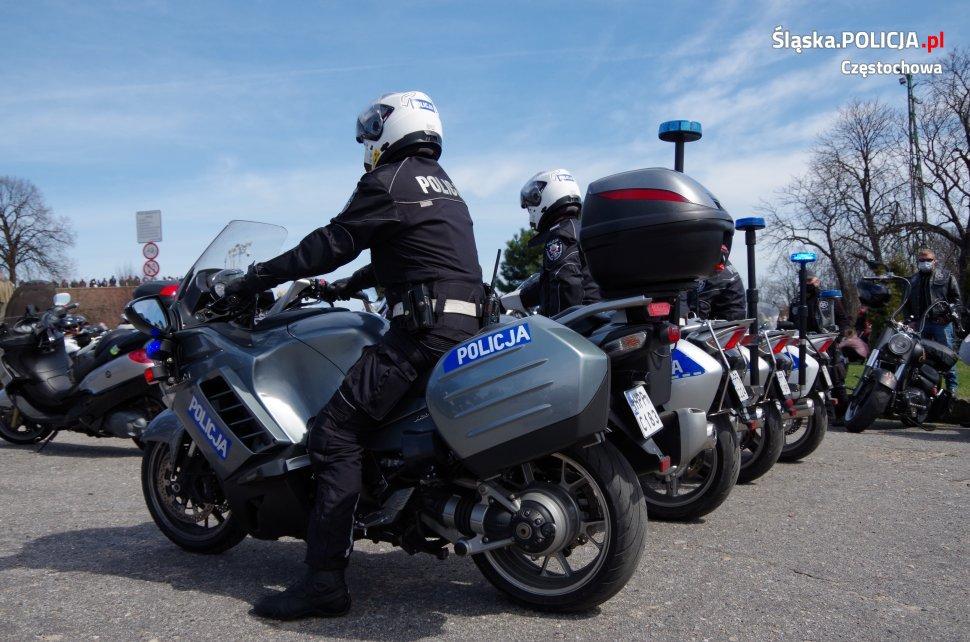 Tegoroczny sezon motocyklowy rozpoczęty mszą na Jasnej Górze 18
