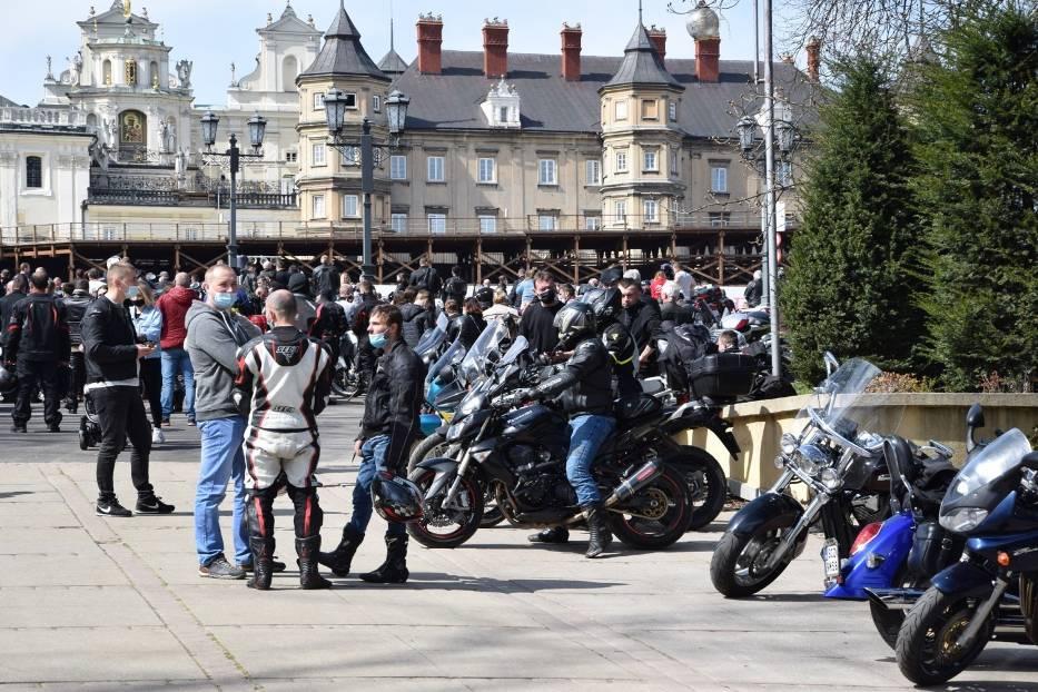 Tegoroczny sezon motocyklowy rozpoczęty mszą na Jasnej Górze 7