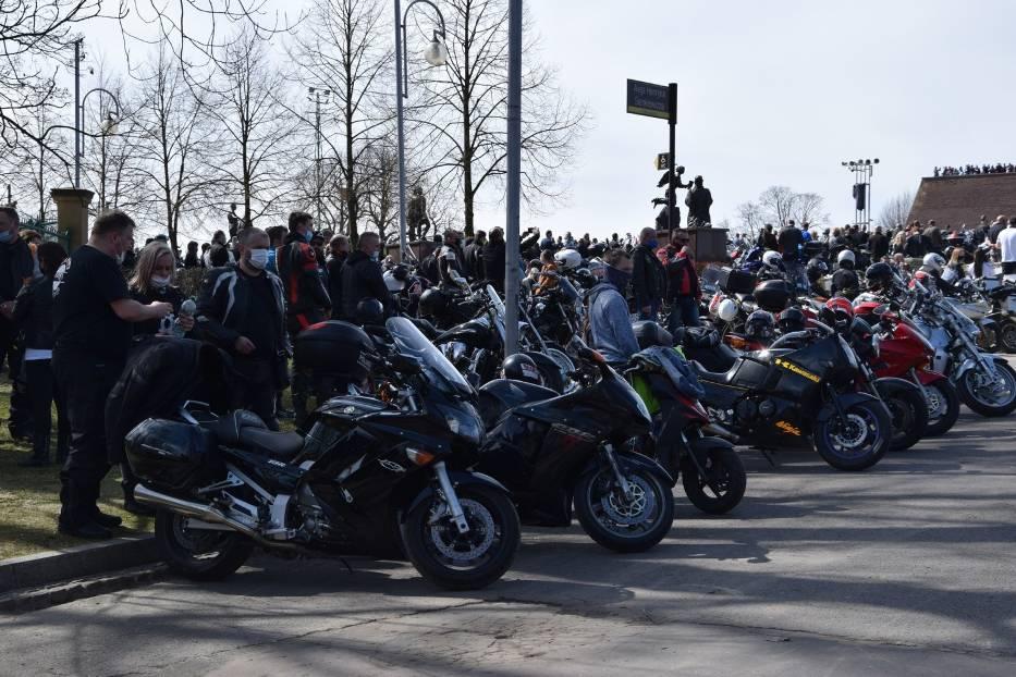 Tegoroczny sezon motocyklowy rozpoczęty mszą na Jasnej Górze 4