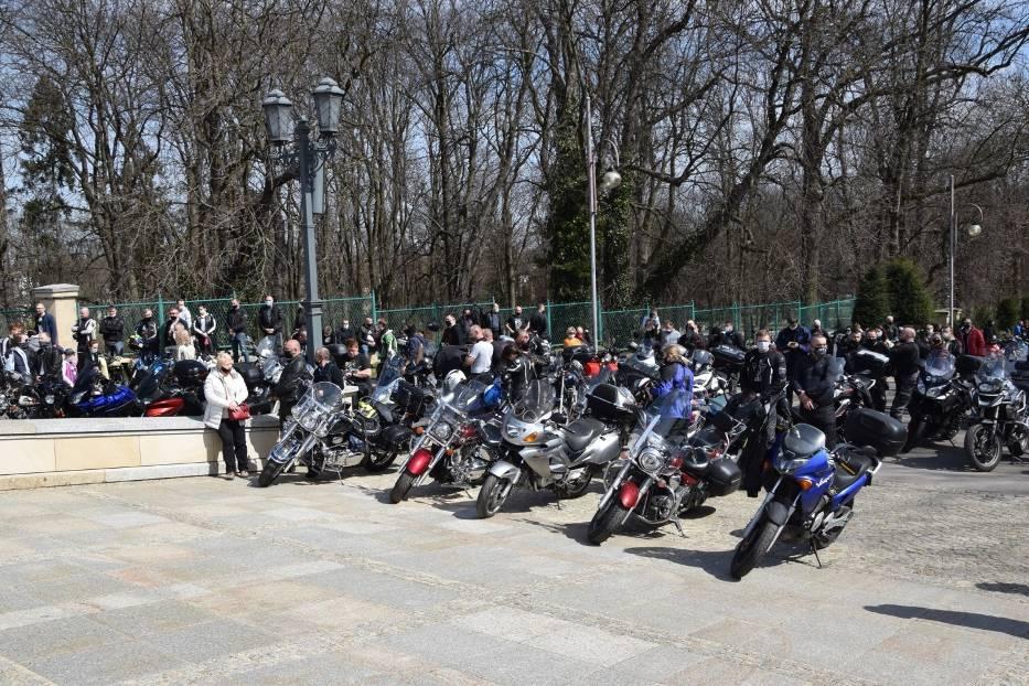 Tegoroczny sezon motocyklowy rozpoczęty mszą na Jasnej Górze 5