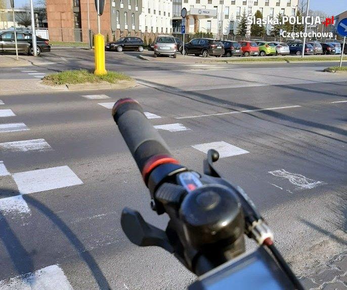W ciągu doby w Częstochowie doszło do ośmiu wypadków z udziałem rowerzystów i motocyklistów 2