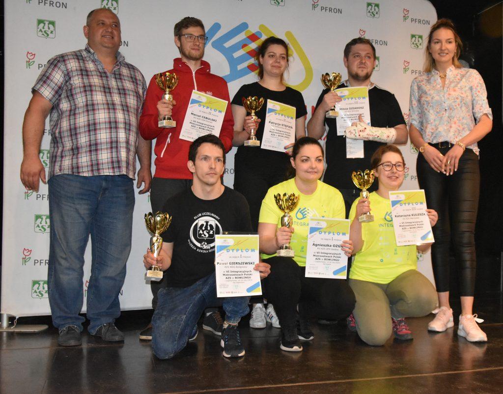 Studenci z niepełnosprawnościami walczyli w Częstochowie w Integracyjnych Mistrzostwach AZS w bilard i kręgle 9