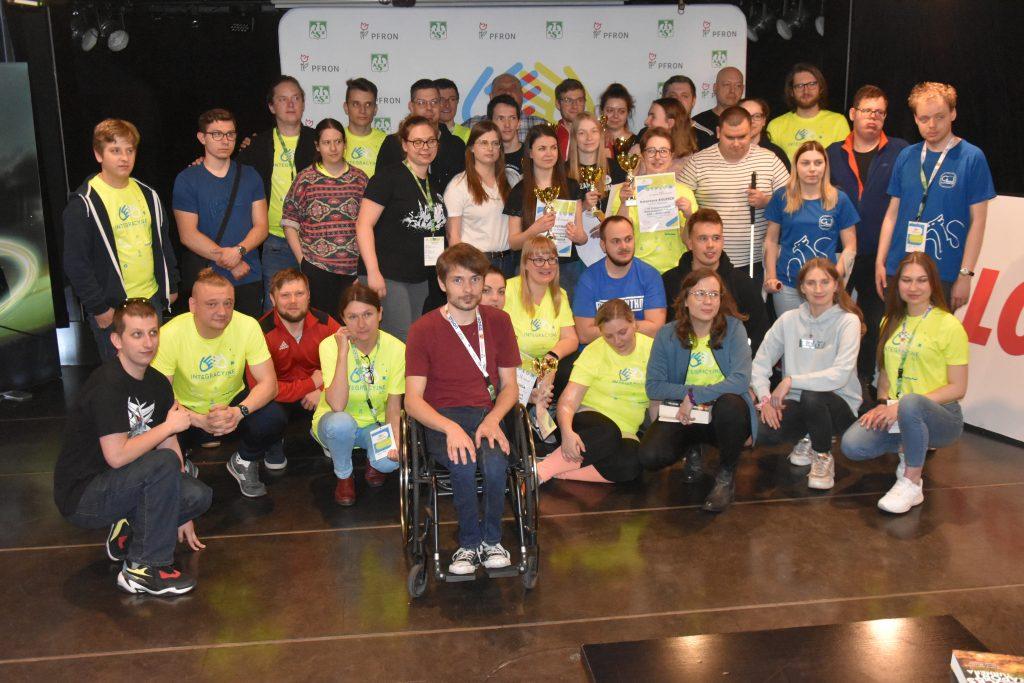 Studenci z niepełnosprawnościami walczyli w Częstochowie w Integracyjnych Mistrzostwach AZS w bilard i kręgle 8