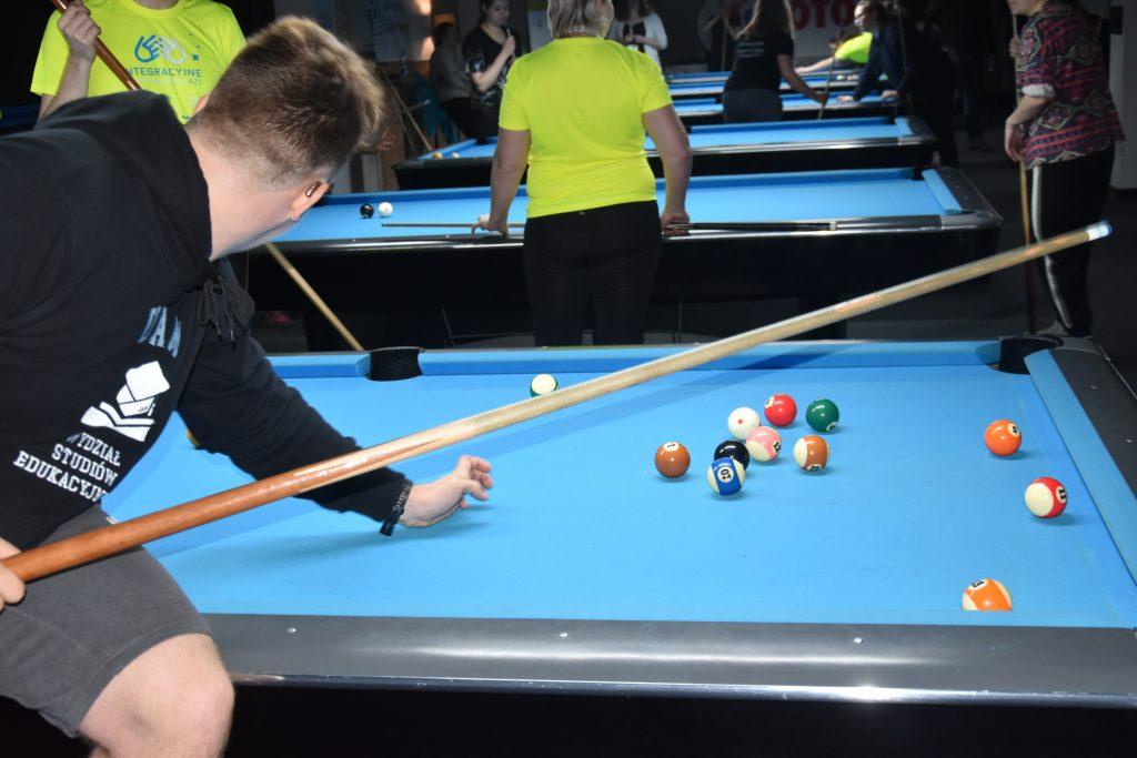 Studenci z niepełnosprawnościami walczyli w Częstochowie w Integracyjnych Mistrzostwach AZS w bilard i kręgle 3