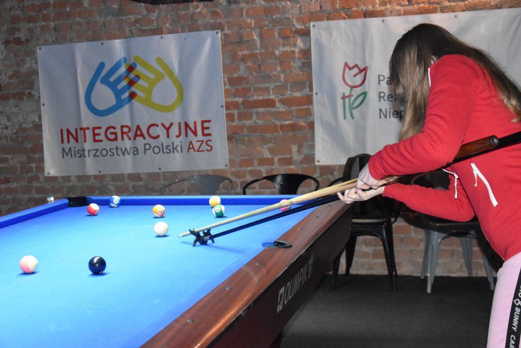 Studenci z niepełnosprawnościami walczyli w Częstochowie w Integracyjnych Mistrzostwach AZS w bilard i kręgle 1