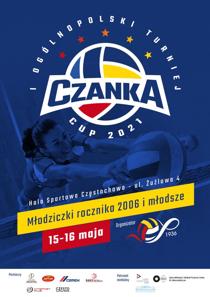 """Przez weekend w Częstochowie rozegrany zostanie ogólnopolski turniej """"Czanka Cup"""" 3"""
