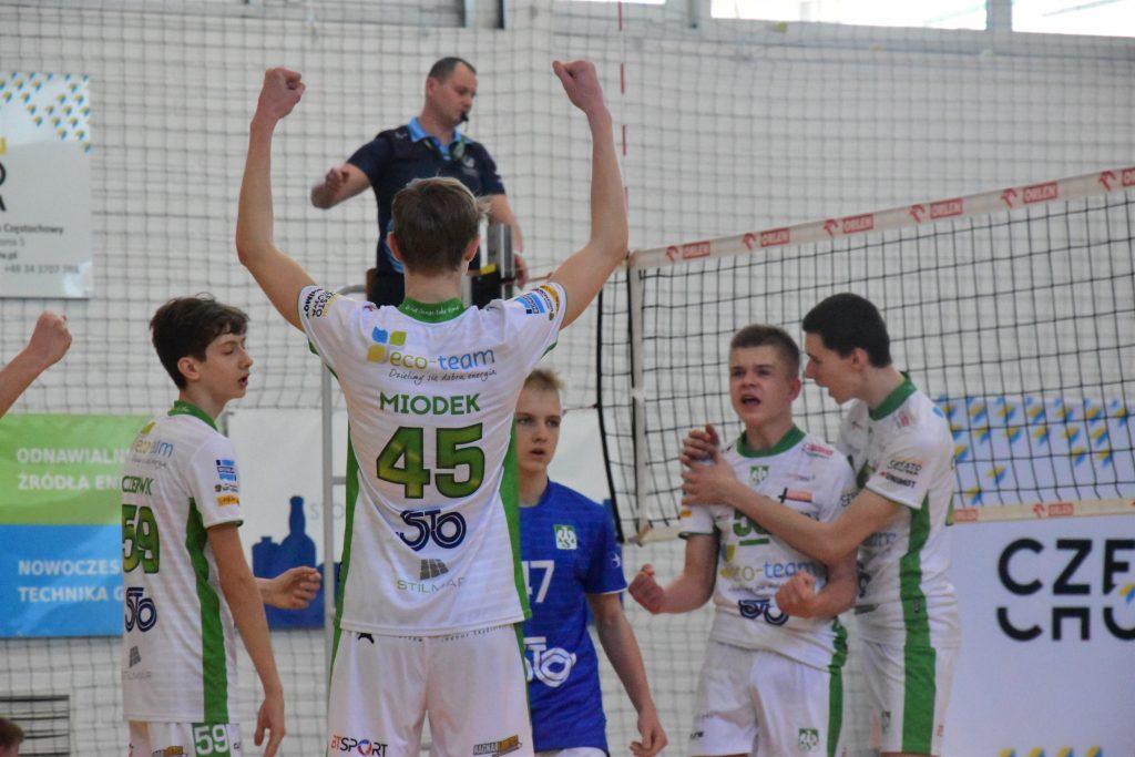 Młodzicy Eco-Team AZS Stoelzle Częstochowa zdobyli złoty medal mistrzostw województwa śląskiego! 9