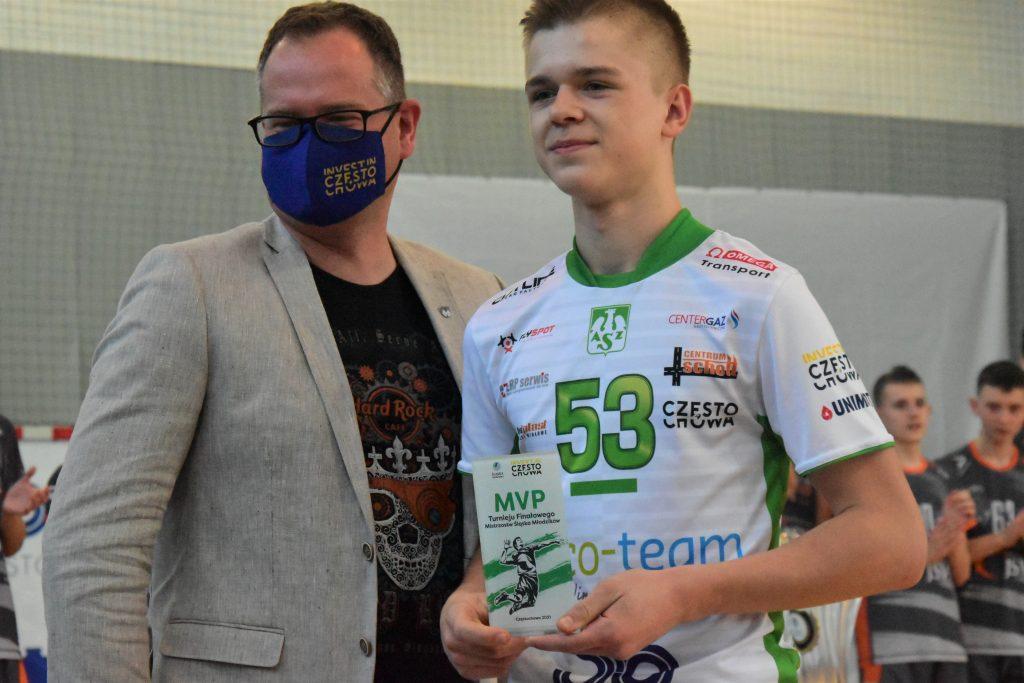 Młodzicy Eco-Team AZS Stoelzle Częstochowa zdobyli złoty medal mistrzostw województwa śląskiego! 5
