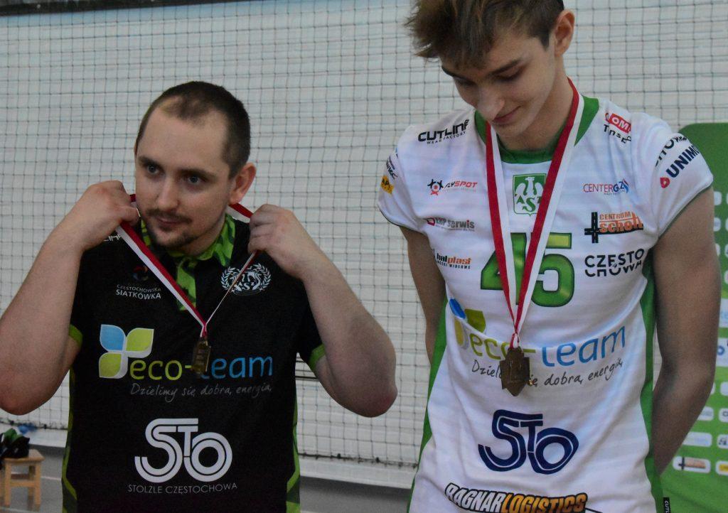 Młodzicy Eco-Team AZS Stoelzle Częstochowa zdobyli złoty medal mistrzostw województwa śląskiego! 3