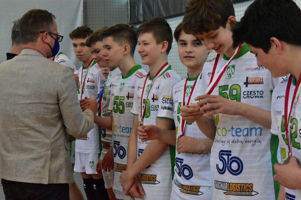 Młodzicy Eco-Team AZS Stoelzle Częstochowa zdobyli złoty medal mistrzostw województwa śląskiego! 4