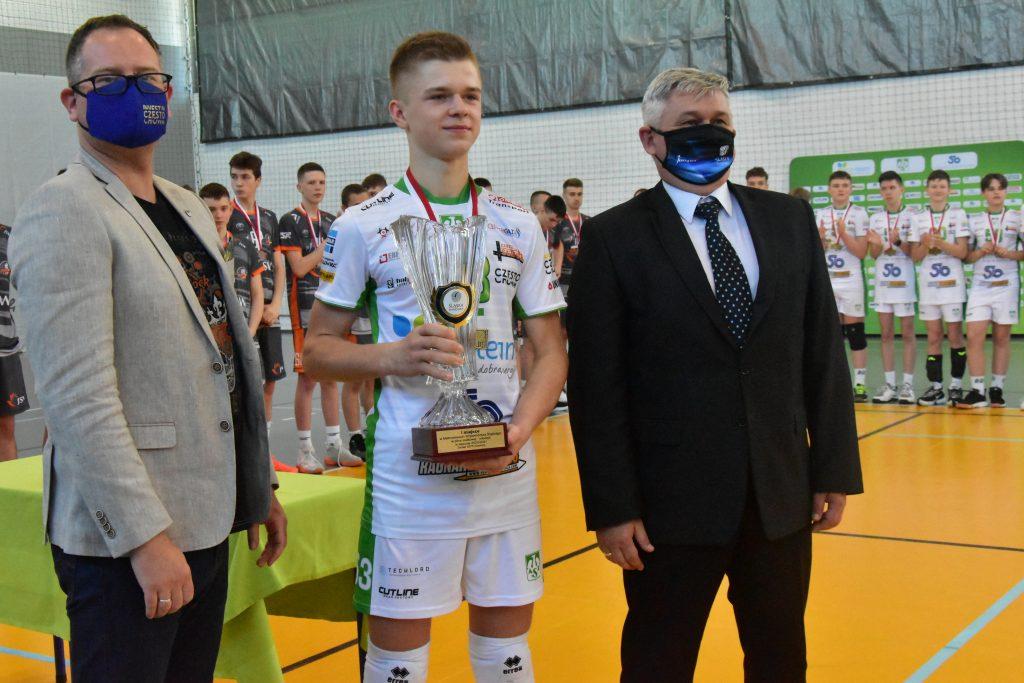 Młodzicy Eco-Team AZS Stoelzle Częstochowa zdobyli złoty medal mistrzostw województwa śląskiego! 2