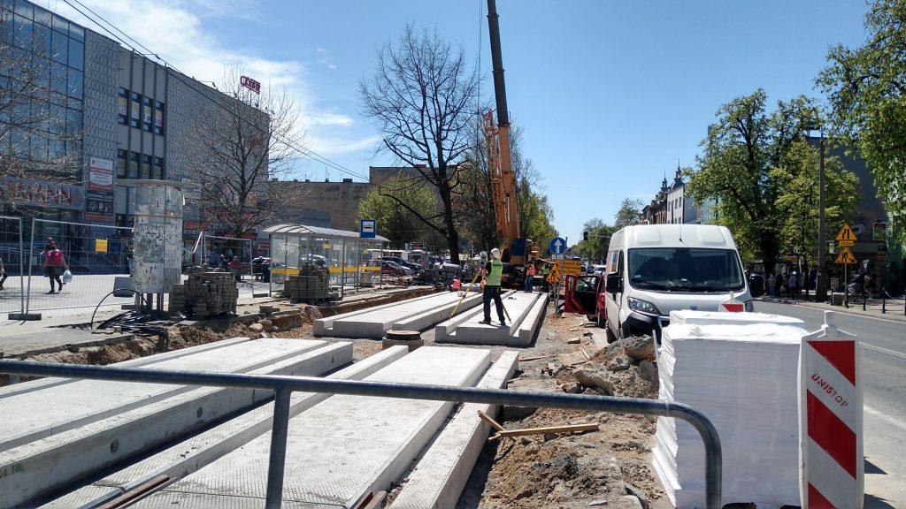 Przebudowa torowiska w Częstochowie znowu z opóźnieniem 5