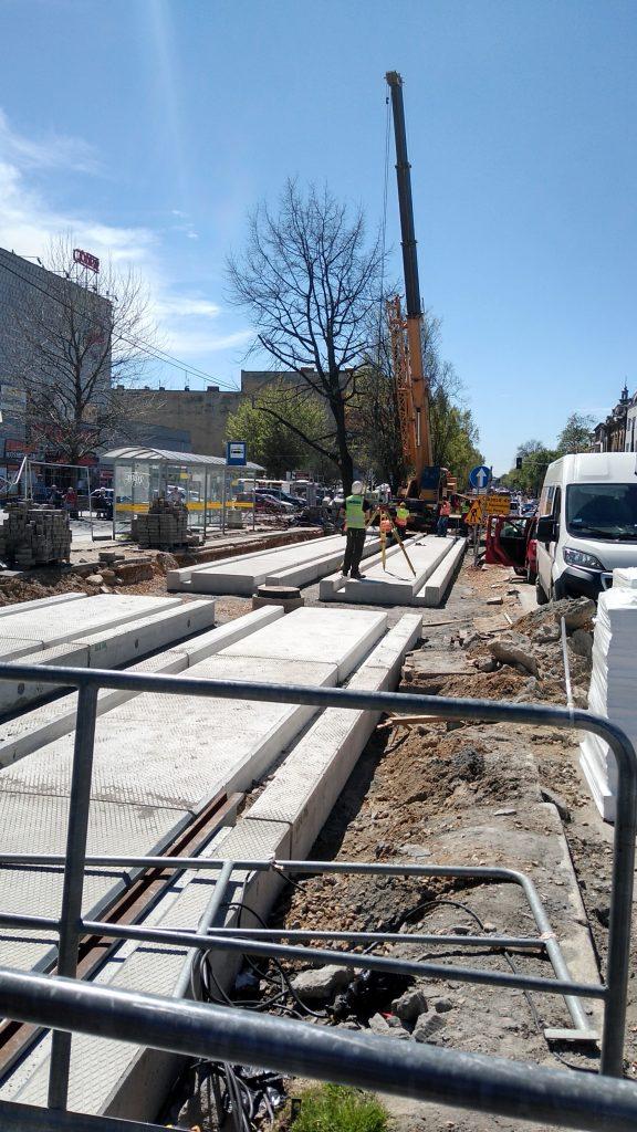 Przebudowa torowiska w Częstochowie znowu z opóźnieniem 2
