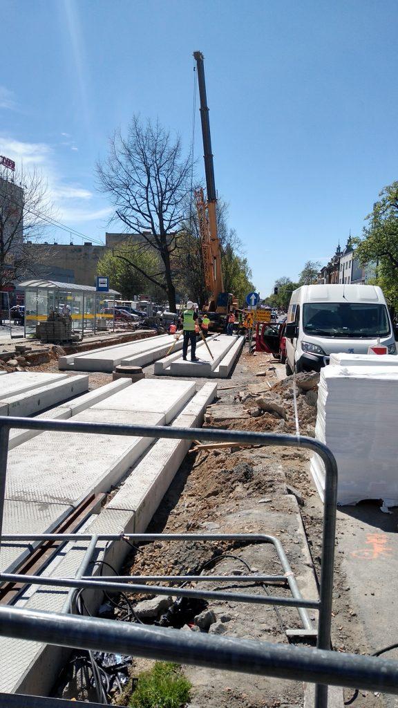 Przebudowa torowiska w Częstochowie znowu z opóźnieniem 3