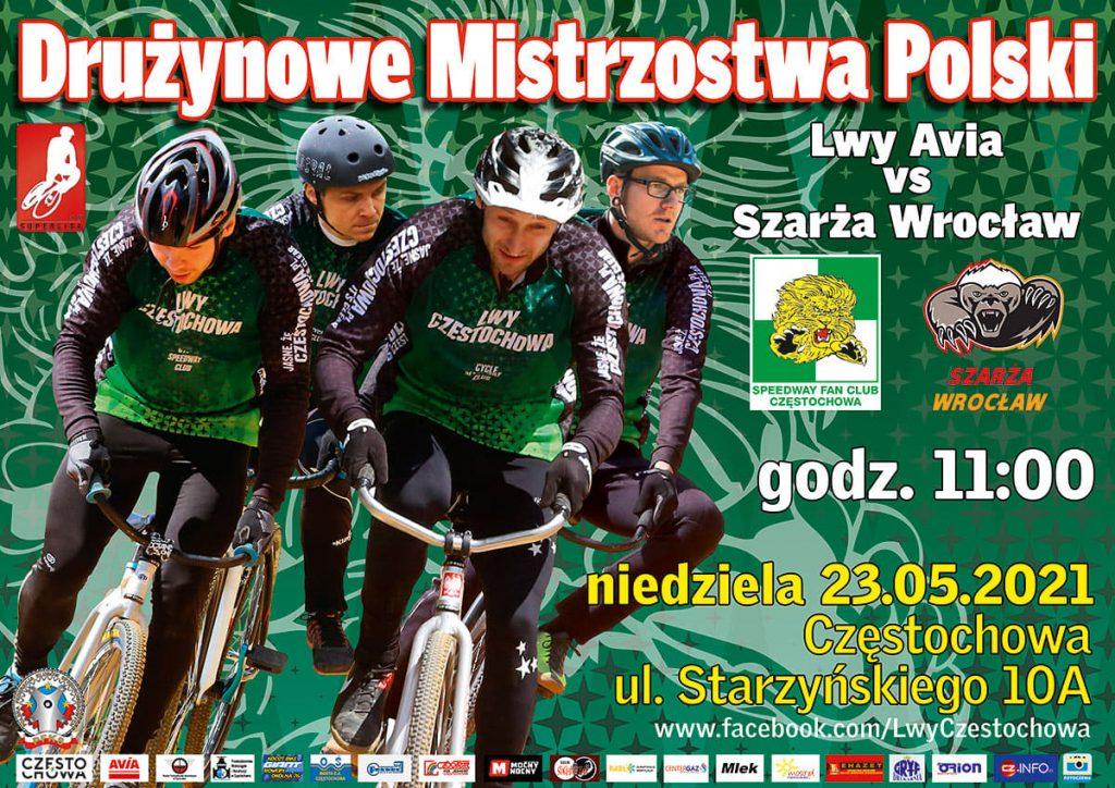 Szarża Wrocław profesora Marcina Szymańskiego będzie ścigać się z Lwami Avia 1