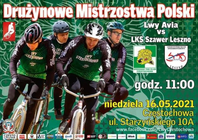 Speedrowerzyści Lwy Avia Częstochowa podejmują w niedzielę Szawer Leszno 5