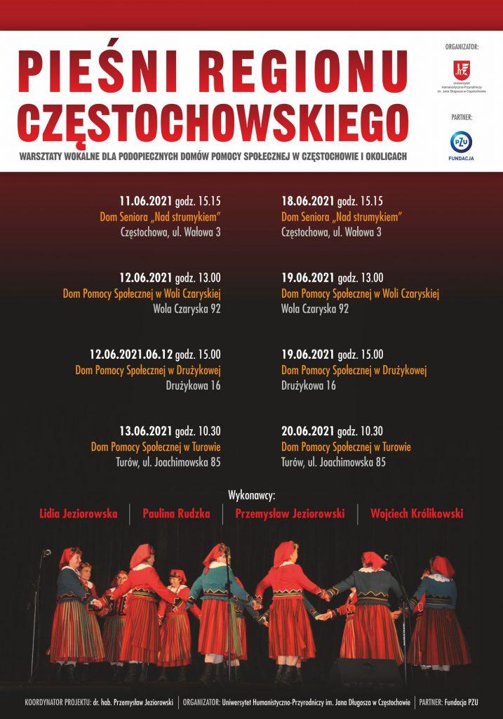 115 podopiecznych Domów Pomocy Społecznej z Częstochowy i okolic weźmie udział w wyjątkowych warsztatach wokalnych 3