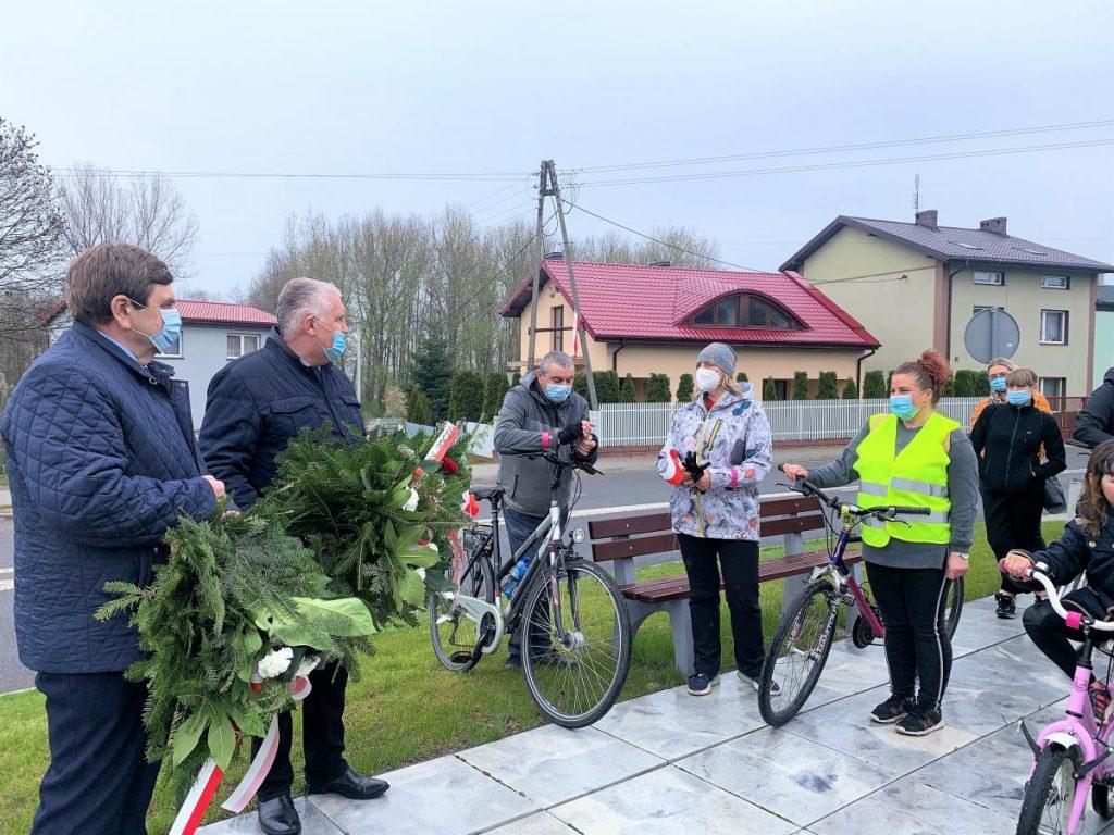 Rajd Rowerowy szlakiem miejsc pamięci w Poczesnej i Kamienicy Polskiej 3