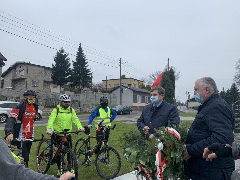Rajd Rowerowy szlakiem miejsc pamięci w Poczesnej i Kamienicy Polskiej 6
