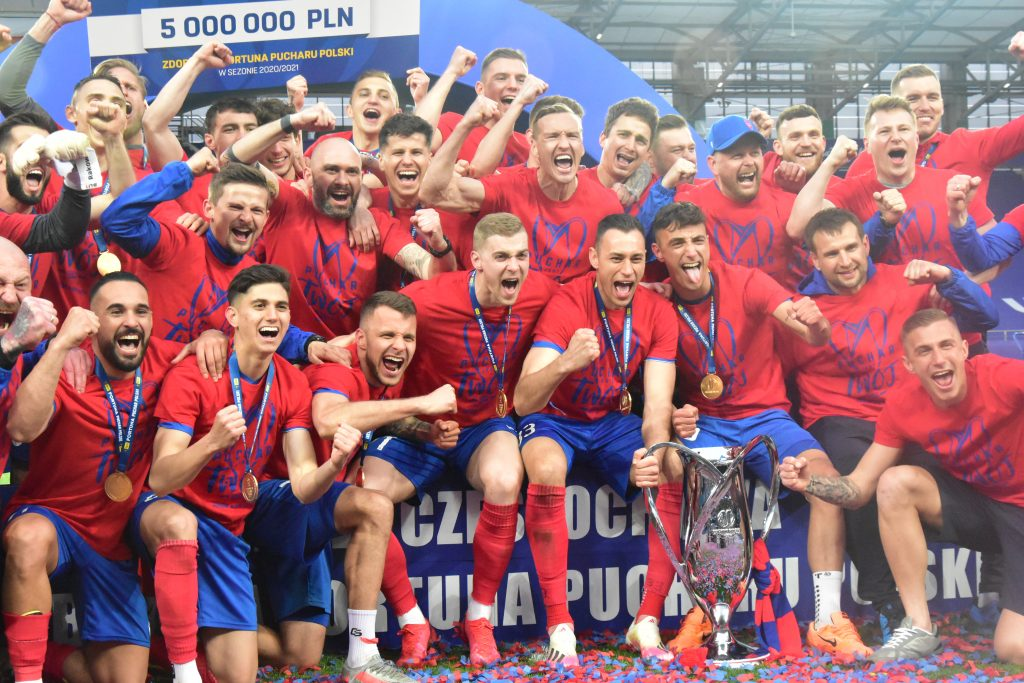 Piłkarze Rakowa Częstochowa zdobyli Puchar Polski!!! 13