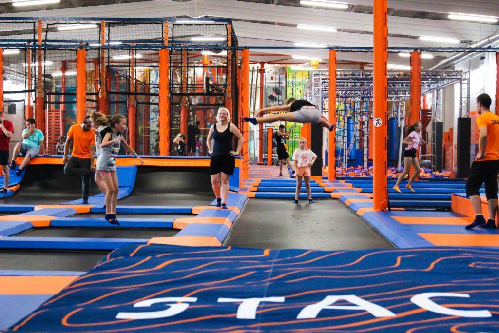 Stacja Grawitacja to więcej niż park trampolin! 2