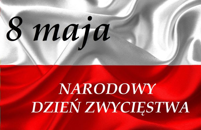 flaga Polski 8 maja