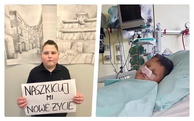Siedemnastoletni częstochowianin walczy o życie. Pomóc mu może operacja w USA, a na to potrzeba pieniędzy 1