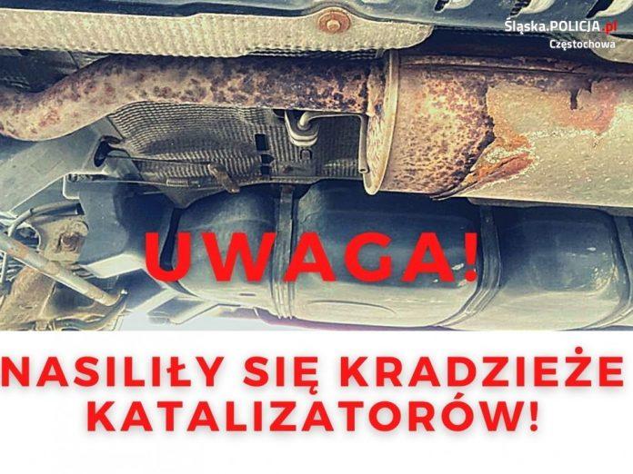 Uważajcie, złodzieje wycinają z aut katalizatory, ostrzega częstochowska policja 2