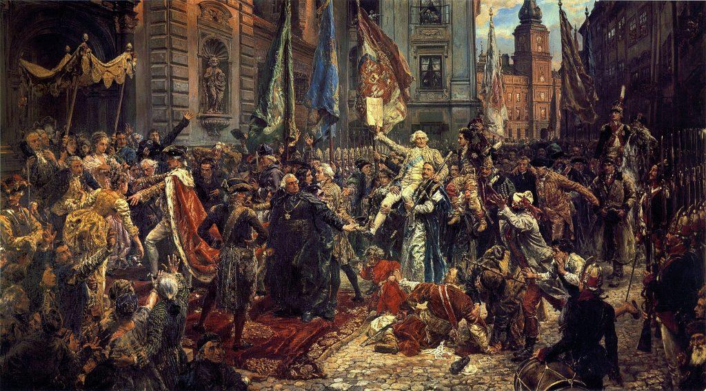 Dzisiaj 230. rocznica uchwalenia Konstytucji 3 Maja 1