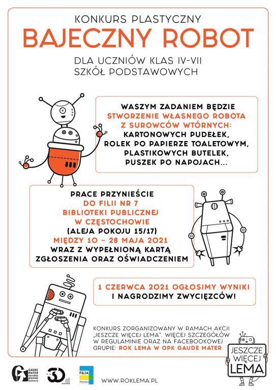 """""""Jeszcze więcej Lema"""" w Częstochowie. Jak stworzyć robota z surowców wtórnych? 2"""