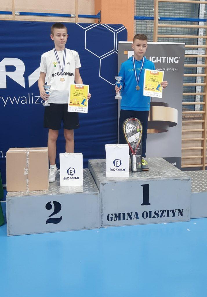 """Sukcesy medalowe ULKS """"LOTKA"""" w Krajowych Zawodach Badmintona 6"""