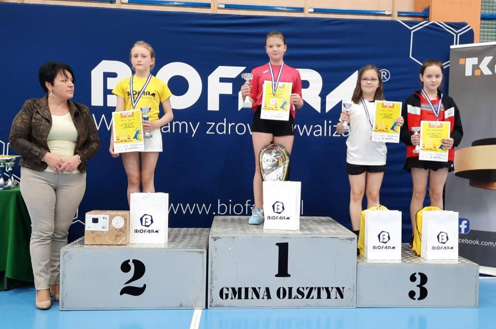 """Sukcesy medalowe ULKS """"LOTKA"""" w Krajowych Zawodach Badmintona 5"""