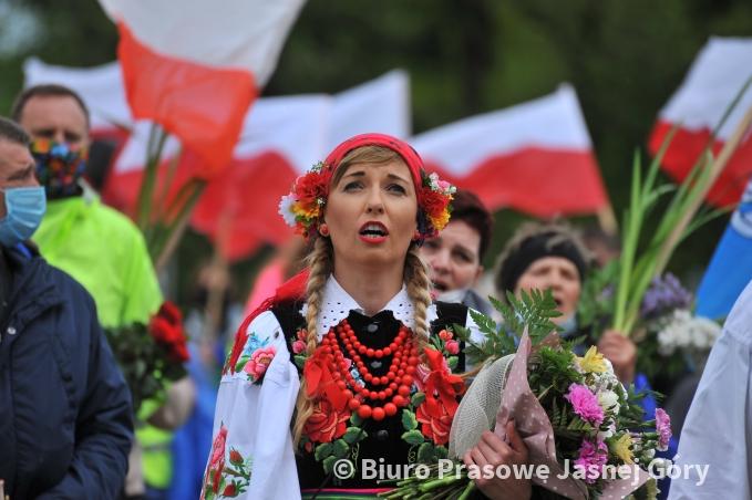 Jasna Góra. Pielgrzymka Łowicka zainaugurowała sezon pielgrzymkowy 2021 8