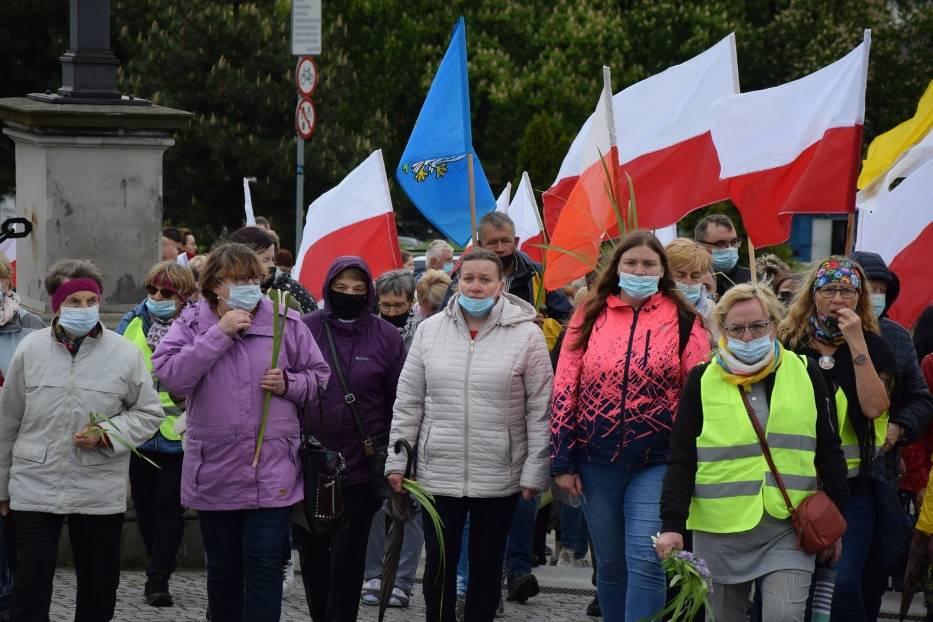 Jasna Góra. Pielgrzymka Łowicka zainaugurowała sezon pielgrzymkowy 2021 4