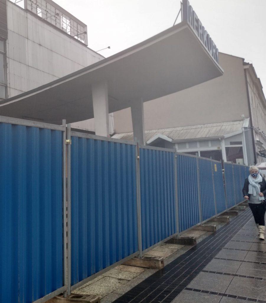 Miasto interweniuje w sprawie płotu wokół Merkurego w Powiatowym Inspektoracie Nadzoru Budowlanego 2