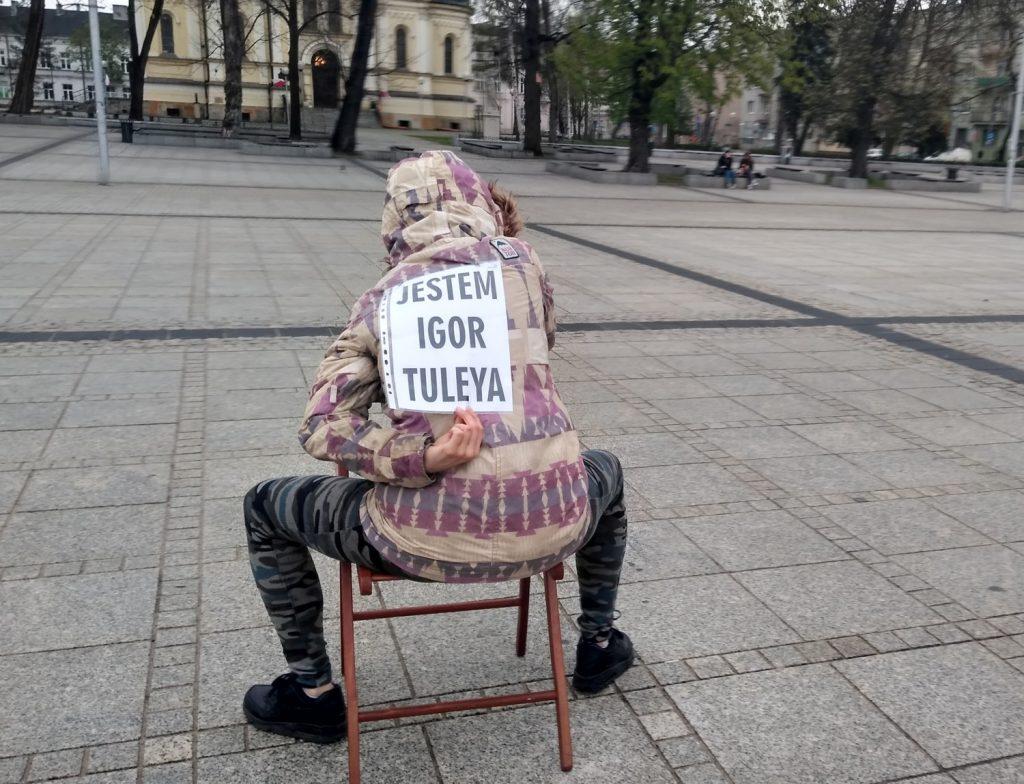 Strajk Kobiet w Częstochowie nie odpuszcza. Kolejna akcja na Placu Biegańskiego 11