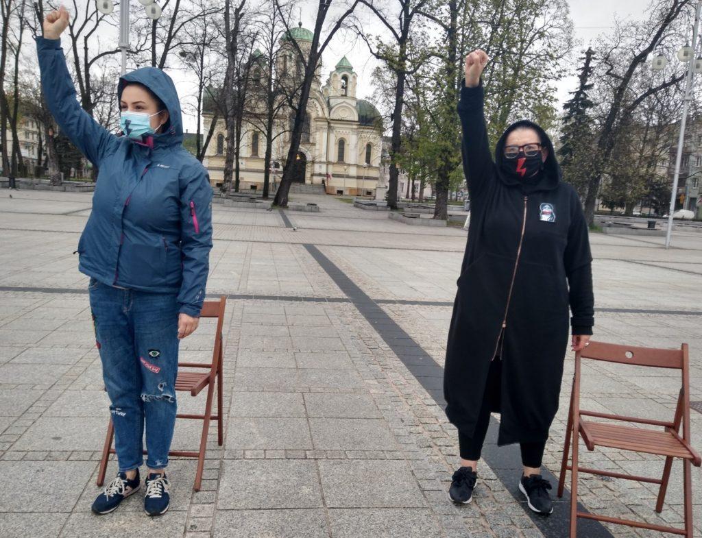 Strajk Kobiet w Częstochowie nie odpuszcza. Kolejna akcja na Placu Biegańskiego 15