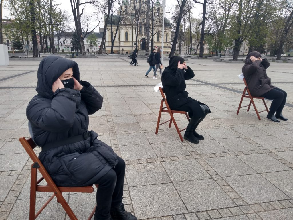 Strajk Kobiet w Częstochowie nie odpuszcza. Kolejna akcja na Placu Biegańskiego 2