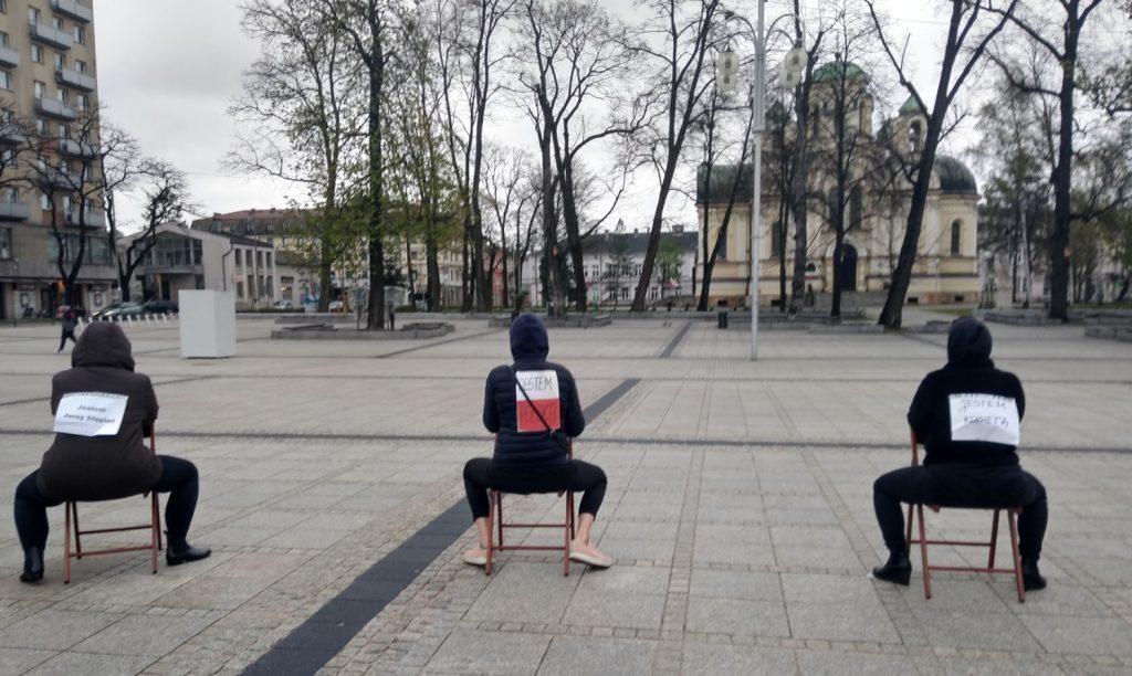 Strajk Kobiet w Częstochowie nie odpuszcza. Kolejna akcja na Placu Biegańskiego 6