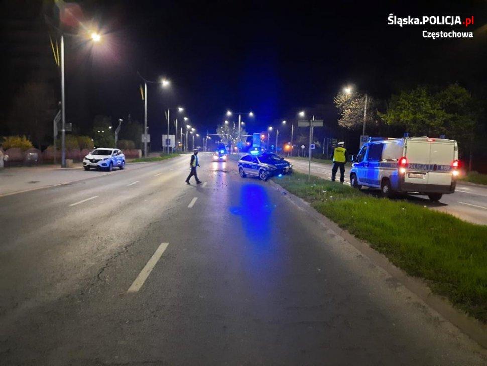 Strzały i policyjny pościg na ulicach Częstochowy 3