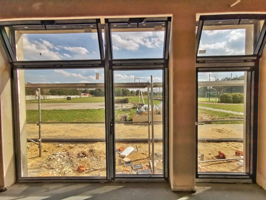 Postęp prac przy budowie pawilonu przedszkolnego w Turowie 9