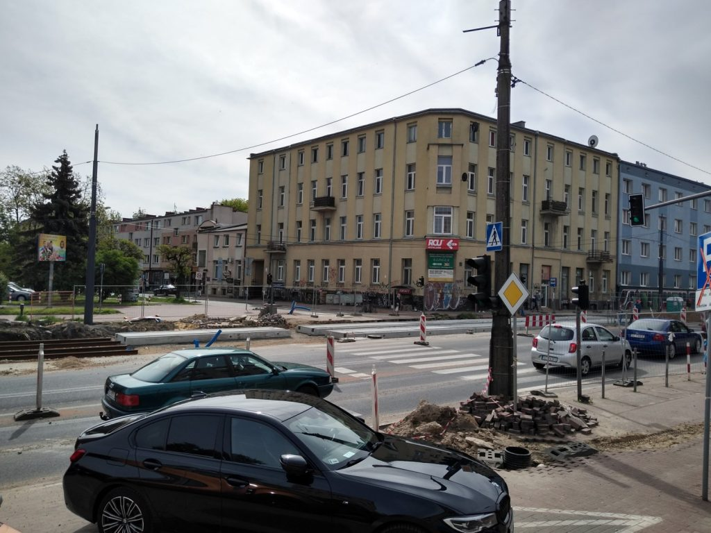 Zobacz, jak postępują prace przy budowie torowiska w Śródmieściu Częstochowy 3