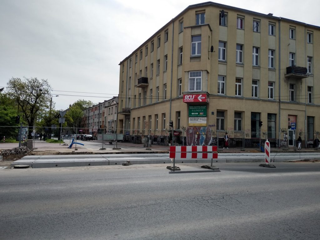 Zobacz, jak postępują prace przy budowie torowiska w Śródmieściu Częstochowy 4