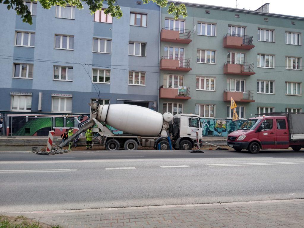 Zobacz, jak postępują prace przy budowie torowiska w Śródmieściu Częstochowy 5