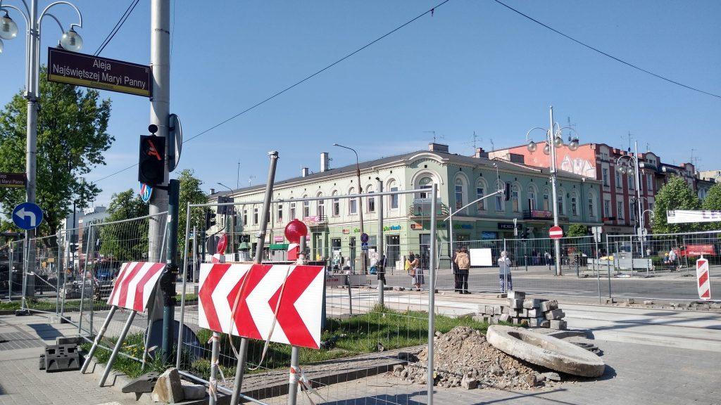 Przebudowa torowiska w Częstochowie znowu z opóźnieniem 10