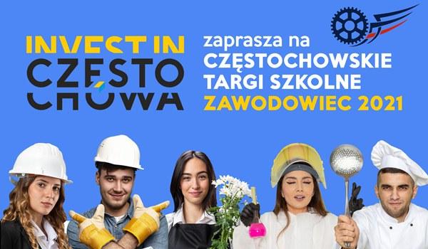 """Częstochowskie targi """"Zawodowiec"""" online 2"""