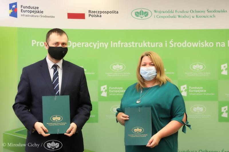 Blachownia podpisała umowę na dofinansowanie termomodernizacji bloków w Łojkach 5