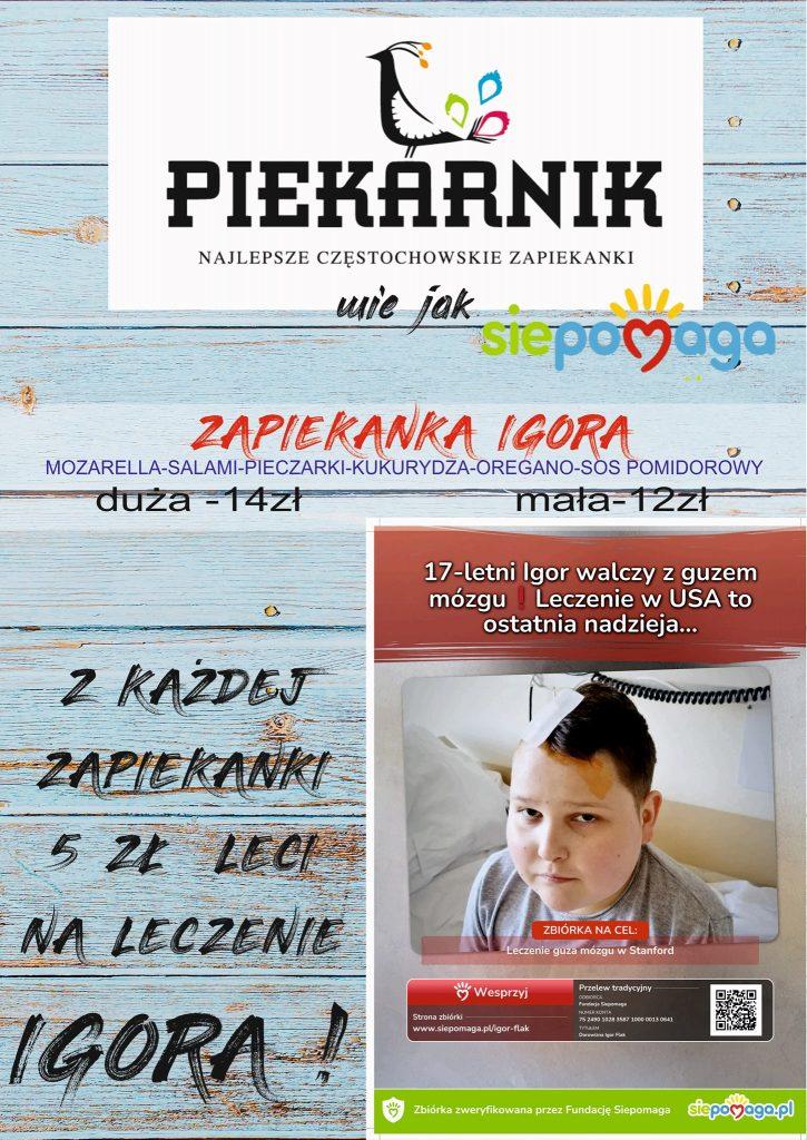 Weź udział w licytacjach i pomóż Igorowi z Częstochowy. Czeka m.in. koszulka z podpisami zawodników Włókniarza 3