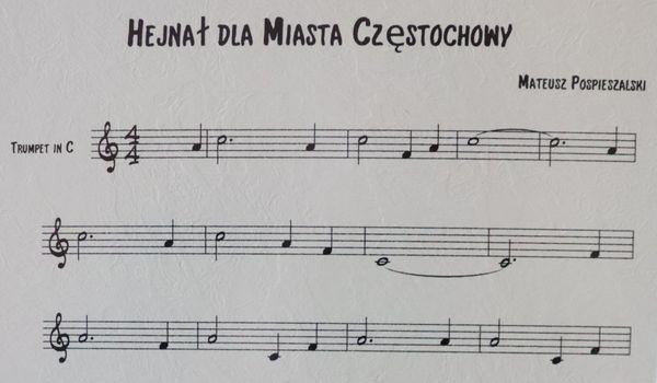 Hejnał skomponowany dla Częstochowy przez Mateusza Pospieszalskiego stał się jednym z symboli samorządowych miasta [POSŁUCHAJ] 2